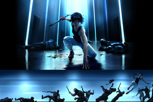 Mirrors Edge Catalyst Close Combat 4k Wallpaper