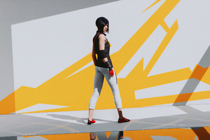 Mirrors Edge Catalyst Have Faith 4k Wallpaper