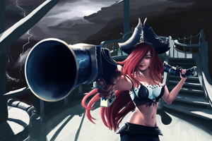 Miss Fortune League Of Legends 5k Wallpaper