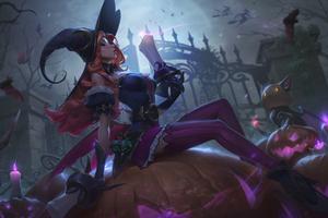 Miss Fortune League Of Legends Art 4k