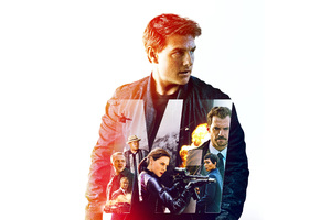 Mission Impossible Fallout Movie 8k