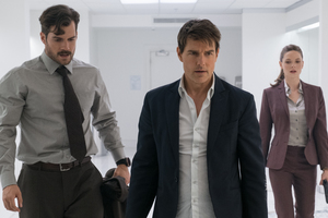Mission Impossible Fallout Tom Cruise Rebecca Ferguson Henry Cavill Wallpaper