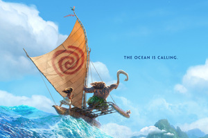 Moana 2016 Animated Movie