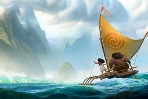 Moana Movie Artwork HD Wallpaper