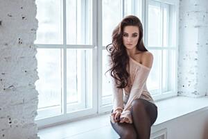 Model Kseniya Klimenko Wallpaper