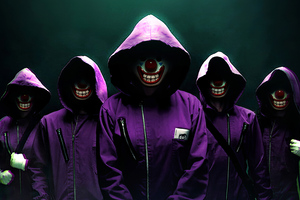 Money Heist X Joker 4k