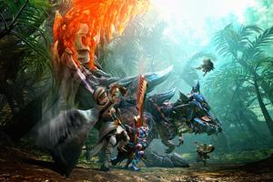 Monster Hunter Generations Key Art