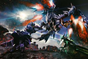 Monster Hunter Generations Valstrax Artwork