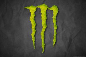 Monster Logo Wallpaper