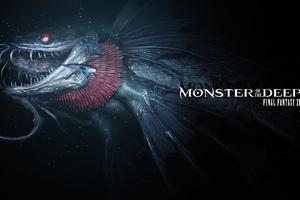 Monster Of The Deep Final Fantasy XV E3 2017 Artwork Wallpaper