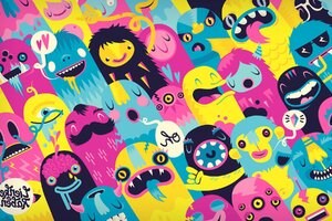 Monsters Wallpaper