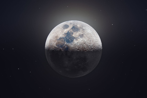 Moon Astrophotography 4k Wallpaper