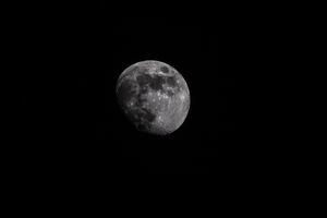 Moon Astrophotography Wallpaper