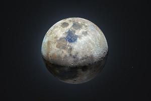 Moon Dark Night 5k Wallpaper