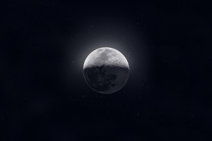Moon Dark Sight 4k Wallpaper
