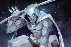 Moon Knight 4k 2020 Artwork