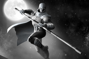 Moon Knight Contest Of Champions Wallpaper