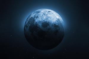 Moon Night 5k Wallpaper