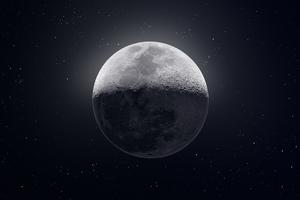 Moon Stars Dark 10k