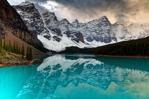 Moraine Canada Lake Wallpaper
