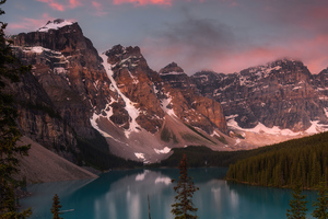 Moraine Lake 4k Wallpaper