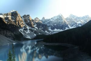 Moraine Lake Canada Reflections 5k