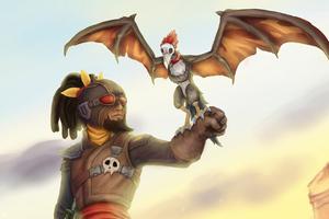 Mordecai And Talon Wallpaper