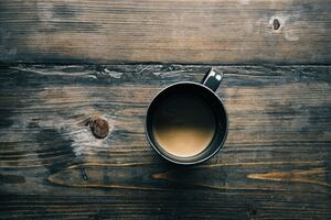Morning Coffee Mug On Table 4k Wallpaper