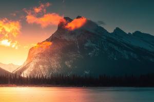 Morning Orange Sunlight Wallpaper