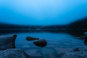 Morskie Oko Poln Calm Lake In The Mountains 5k Wallpaper