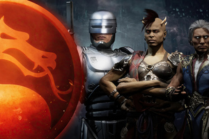 Mortal Kombat 11 Aftermath Fujin Sheeva And RoboCop 4k