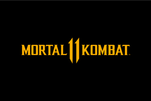 Mortal Kombat 11 Logo Dark Black 8k Wallpaper