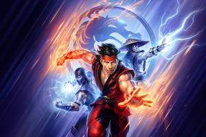 Mortal Kombat Legends Battle Of The Realms Wallpaper