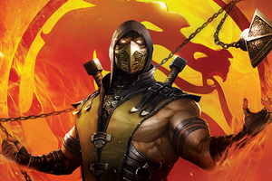 Mortal Kombat Legends Scorpions Revenge 2020 Wallpaper