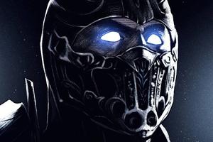 Mortal Kombat Sub Zero Art 4k