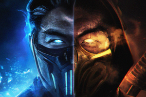 MORTAL KOMBAT SUBZERO AND SCORPION Wallpaper