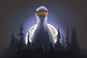 Mother Ducker Wallpaper