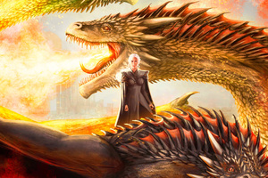 Mother Of Dragons Artwork