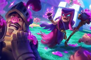 Motherwitch Clash Royale 4k Wallpaper