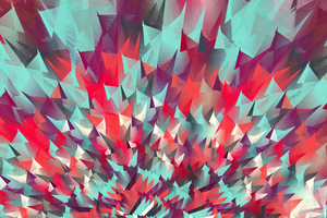 Motion Abstract Digital Art 4k