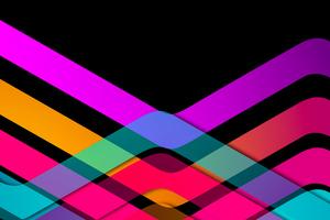 Motion Of Shapes 8k Wallpaper