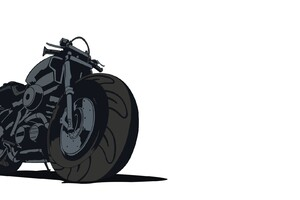 Motorcycle Vector Wallpaper