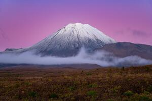 Mount Doom New Zealand 5k