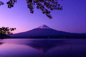 Mount Fuji Beautiful View