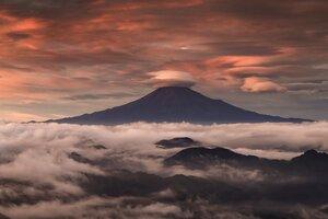 Mount Fuji Clouds
