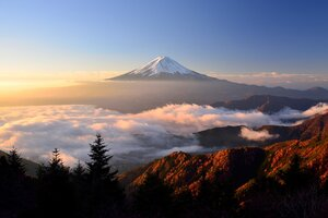 Mount Fuji HD Wallpaper