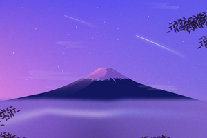 Mount Fuji Minimal