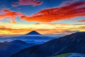 Mount Fuji Panaromic 8k