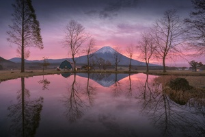 Mount Fuji Reflection