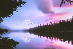 Mount Hood Morning 4k